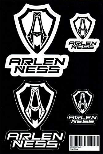 Arlen Ness Aufkleber Set