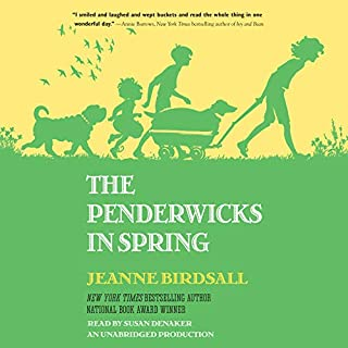 The Penderwicks in Spring audiobook cover art