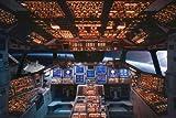 Educational - Bildung Raumschiff - Space Shuttle Cockpit