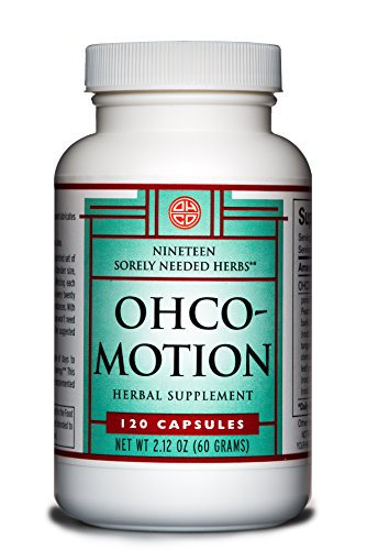 Motion by OHCO Oriental Herb Co - Energy, Energy Pills, Pre-Workout, Post-Workout, Energy Boost, Mobility, Anti Aging, Fitness - Natural Herbal Supplement for Active Men and Women 120 Capsules