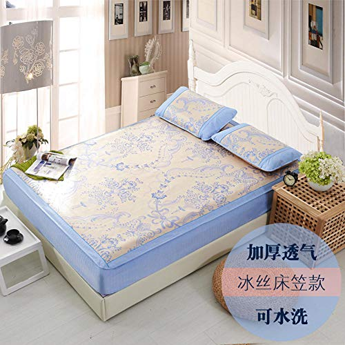 FIFY Eisseidenmatte Sommermatte Bett Abschnitt Eisseidenmatte DREI Sätze können 1,8 m dick Sein 1,5 Bett 2 Meter @ E_1.5