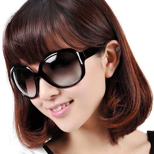 Mcottage Gafas de Sol de Las Mujeres Conducción Conducción de Gafas de Sol polarizadas Mujeres Grandes Marco de protección Solar Eyes UV Protección