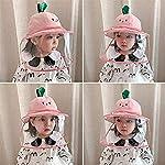 Keleily Sombrero Protector Bebe con Pantalla de Protección Facial, Sombrero Protector Facial Niños S... #4