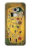 Innovedesire Gustav Klimt The Kiss Hülle Schutzhülle Taschen für HTC One X10