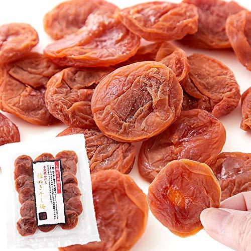 天然生活 種抜き干し梅 (80g) 紀州南高梅 和歌山県産 黒糖入り 国産 しっとり 種なし