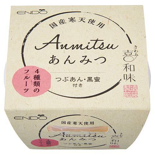 遠藤製餡 喜和味 あんみつ 250g×24個入×(2ケース)