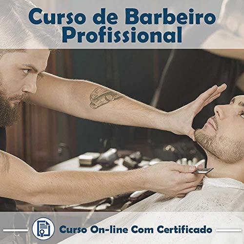 Curso online em videoaula torne-se um Barbeiro Profissional com Certificado + 2 brindes