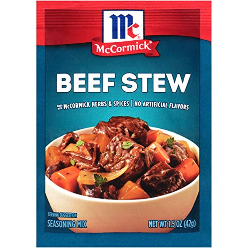 McCormick Classic Beef Stew Seasoning Mix Packet, 1.5 oz