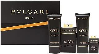 Bvlgari In Black Coffret: Eau De Parfum Spray 100ml/3.4oz + Eau De Parfum Spray 30ml/1oz + After Shave Balm 100ml/3.4oz 3pcs