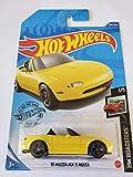 Hot Wheels 2020 Hw Roadsters '91 Mazda MX-5 Miata, Yellow 208/250