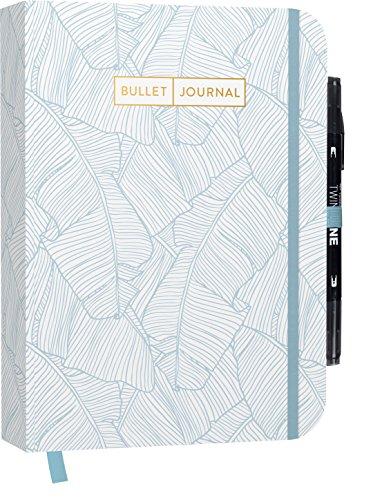 Bullet Journal: Mit Punkteraster, Seiten für Index, Key und Future Log sowie ... praktischem Verschlussband und Innentasche: Mit Punkteraster, Seiten ... praktischem Verschlussband und Innentasche