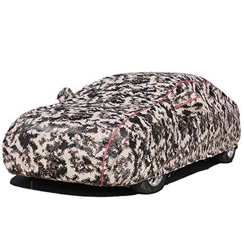 XXHDEE Ma-se-ra-ti G-r-an-Ca-b-rio Cubierta de coche de camuflaje grueso con cremallera   Sombra, a