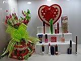 San Valentín Regalo Hamper para su ~ Rimmel London Lujo Kit de Belleza Caja de regalo Set de regalo papel de regalo cesta de regalo + libre Rimmel Fundación incluido. 44.