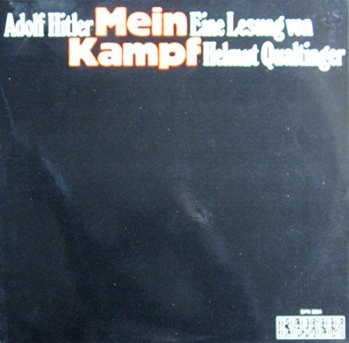 Adolf Hitler: Mein Kampf (Eine Lesung von Helmut Qualtinger) [Vinyl Doppel-LP] [Schallplatte]