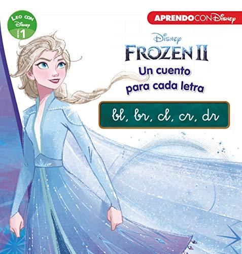 Frozen 2. Un cuento para cada grupo consonántico: bl, br, cl, cr, dr (Leo con Disney - Nivel 1)