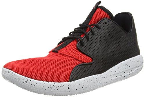 Nike Jordan Eclipse, Zapatillas de Deporte Exterior para Hombre, Negro/Rojo/Plateado/Blanco (Blk/Unvrsty Rd-Pr Pltnm-Unvrst), 42 EU