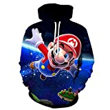 3D Printing Classic Game Men Hoodie Children Casual Hip-Hop Long Sleeves Sweatshirt Sweater-Picture Color_S