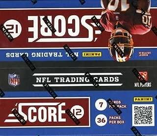 2012 score football cards