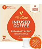 VitaCup Breakfast Blend Energy Blend Coffee Pods 64ct | Keto | Paleo | Whole30 | Vitamins B1, B…