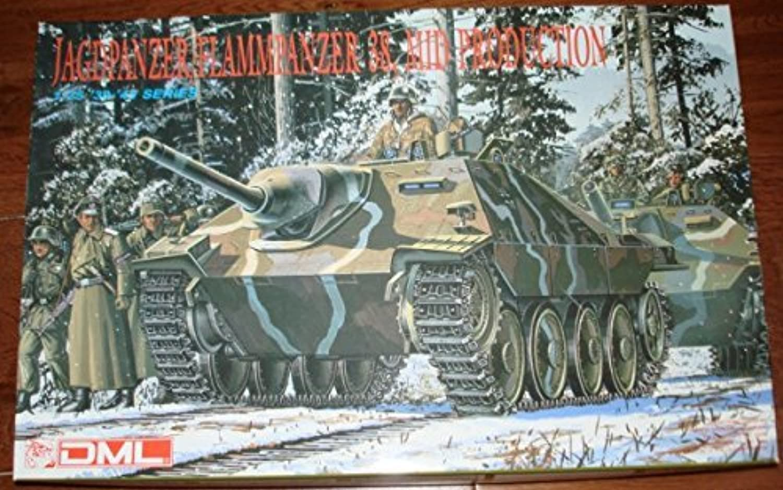 Jagdpanzer flammpanzer 38, MID Production 1 35 Scale Model Kit by Panzer tank