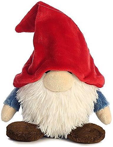 Aurora World Pointy Hat Gnome Plush Toy (Small, rot Weiß Blau braun) by Aurora