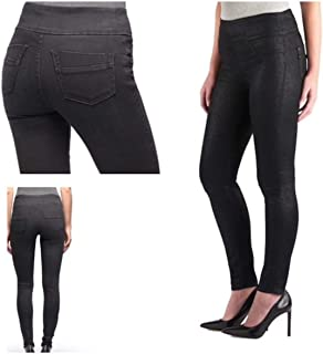 Rock & Republic Denim Rx Fever Midrise Pull on Legging 24W M Size in Black Color