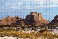 大人のためのジグソーパズルアメリカアメリカバッドランズ国立公園ラコタパズル1000ピース木製旅行のお土産