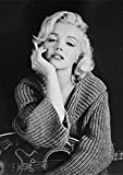 Pintura de Diamantes 5D Marilyn Monroe con Números de Punto de Cruz para Adultos Diamante Bordado...
