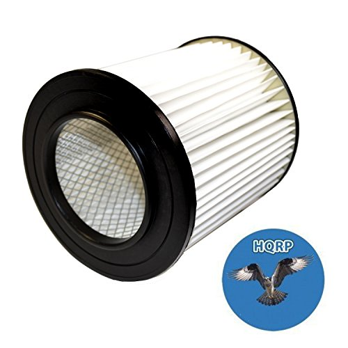HQRP 7' Filter for Dirt Devil Pro 390, 590, 690, 890, 990, Platinum Force 299e H-P Central Vacuum Systems, 8106-01 Replacement Coaster