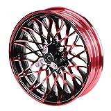 Llantas de rueda-Duokon 12 x 2.75 pulgadas Llantas delanteras, llanta universal de acero para...