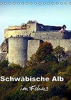 Schwaebische Alb im Fokus (Tischkalender 2022 DIN A5 hoch): Impressionen einer Kulturlandschaft (Monatskalender, 14 Seiten )