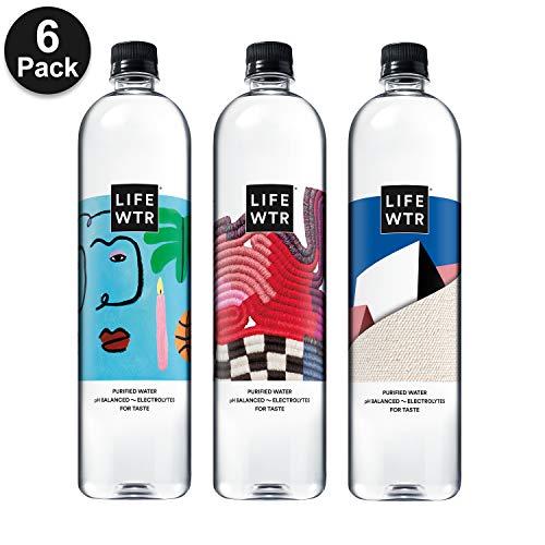 LIFEWTR, Premium Purified Water, pH Balanced with Electrolytes...
