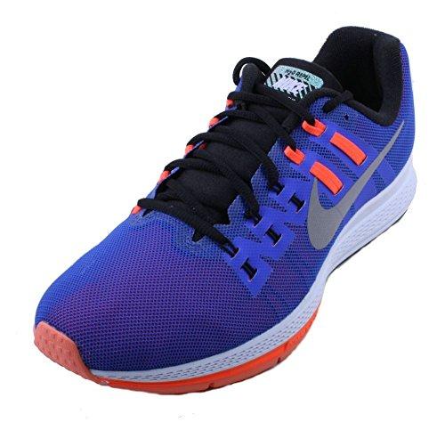 Nike Damen W Air Zoom Structure 19 Flash Laufschuhe, Blau, 36 EU