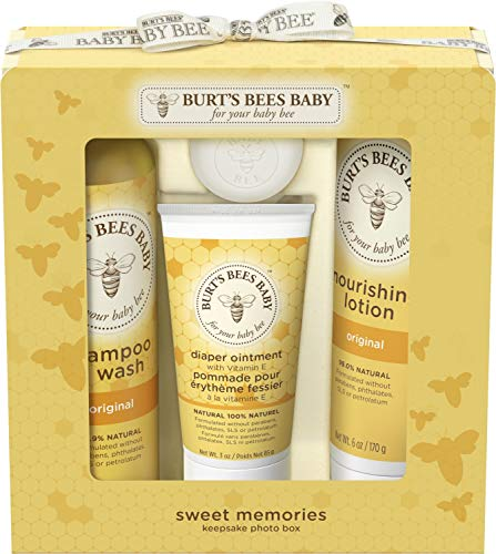 Burts Bees Baby Bee Sweet Memories Keepsake Photo Box