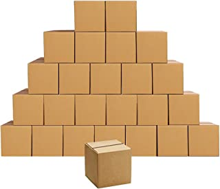 Cardboard Boxes 6 x 6 x 6 inches Small Shipping Boxes, 25 Pack