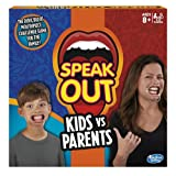 Hasbro – Speak Out Kids vs Parents Game – Mâche-Mots Enfants Contre Parents Version Anglaise (Import UK)