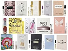 SAMPLES RANGE FROM .02oz TO .06oz. **These are Sample Vials, NOT Mini Bottles*** You will receive a lot of 15 designer fragrance samples AS PICTURED at the time of your purchase. Please note that samples may change based on availability.** Substituti...