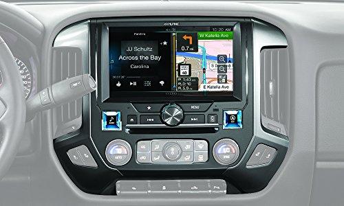 Alpine Electronics X110-SLV in-Dash Restyle System for Chevrolet Silverado 2014-Up, 10'