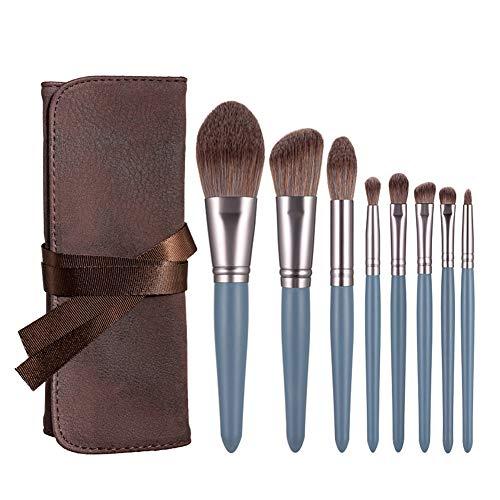 Pinceaux de maquillage de 15 pièces Premium Professional Synthetic Foundation Brush Maquillage Cosmétiques Poudre Blush Concealers Eye Set Brush-A