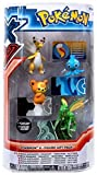 Pokemon X & Y Mega Ampharos, Manaphy, Teddiursa & Scyther Mini Figure 4-Pack...