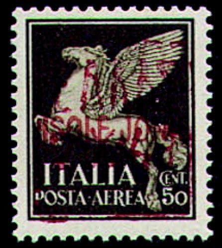 Goldhahn Deutsche Besetzung Zante Nr. 3 II postfrisch geprüft Briefmarken für Sammler