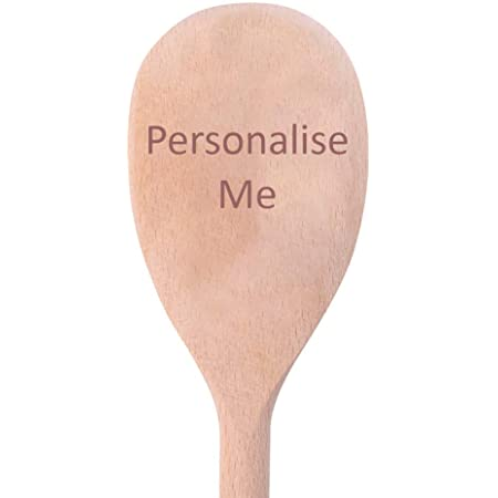 Personalised Baking gifts Stocking fillers for her Personalised /'Star baker/' inspired wooden spoon gift Engraved wooden spoon