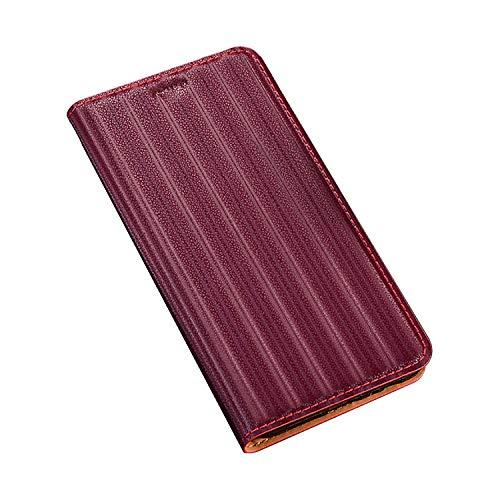 TANKLE Handyhülle for Xiaom i Poco F2 Poche d'enveloppe Premium Pro Cover Klappetui détenteurs de Cartes de crédit stator Fermeture magnétique Handyhülle (Color : Red, Size : Poco f2 Pro)