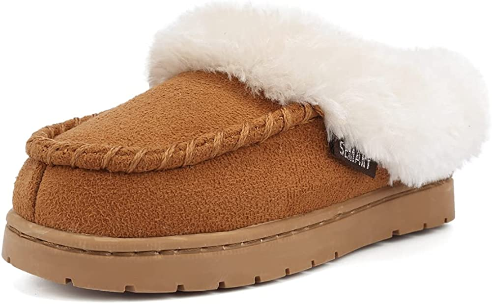 FANTURE Toddler Kids Moccasin House Memory Challenge the lowest price Shoes Slippers with F Popularity