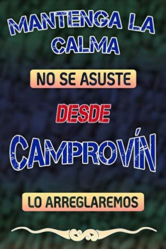 Pas de panique, nous allons le réparer depuis Camprovín lo arreglaremos: Cuaderno | Diario | Diario | Página alineada