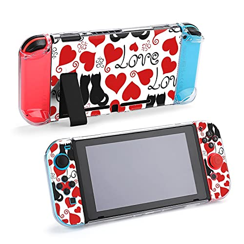 Coque de protection pour Nintendo Switch, motif grunge peint à la main, coque durable pour Nintendo Switch et Joy Con