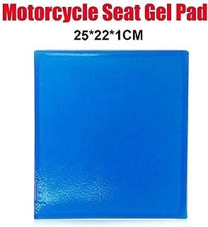 Deyan Asiento de Motocicleta Gel Pad Fibra elástica Moto Comfort Gel Cold Pad Cojín para Motocicleta Sofá Silla