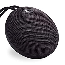 Mivi Roam Ultra-Portable Wireless Speaker with HD Sound, Booming Bass, and 5Watts Peak Output-Black