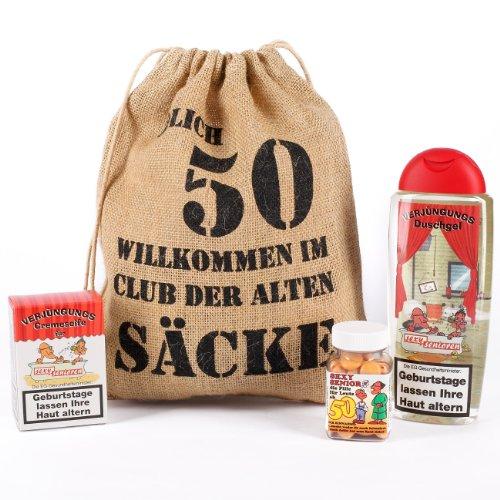 Cera & Toys® Geburtstagsgeschenk Set 50 (4-Teilig)