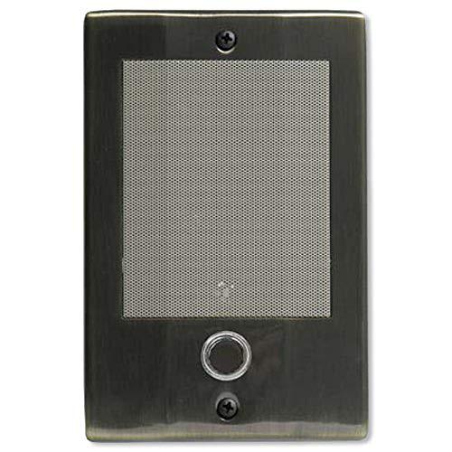 M&S Systems D3BN Doorbell Intercom, Antique Brass